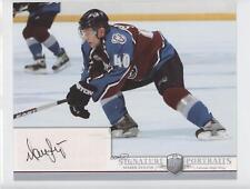 2006-07 Upper Deck Be A Player Portraits Signature #SP-SV Marek Svatos Auto Card