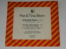 PAT & TINA STERN - I love you ######## LUISTER ########