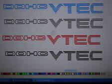 DOHC VTEC Decals  Honda Civic Si 99-00 Ek  SILVER