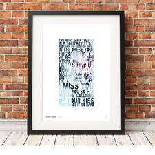 MY CHEMICAL ROMANCE ❤ Gerard Way ❤ MCR lyrics poster art print in 5 sizes #3