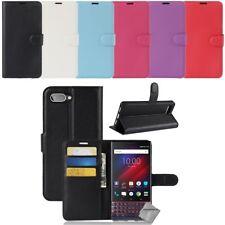 Housse etui coque pochette portefeuille pour Blackberry Key2 LE + film ecran