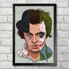 Alex Tyler Joker Poster Print A3+ 13 x 19 Cloakwork Orange, Fight Club, Durden