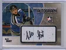 ALEX GRANT ROOKIE RC 07/08 ITG H&P Autograph Auto Pittsburgh Penguins Signed