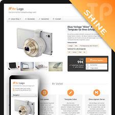 SHINE ★ Ebayvorlage 2017 Ebay Template Responsive Design Auktionsvorlage