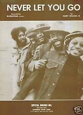 BLOODSTONE Sheet Music NEVER LET YOU GO MINT Criterion Publ. 70's SOUL R&B Pop
