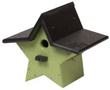 Hanging Star Birdhouse - 100% Recycled Weatherproof Poly Amish Usa Handmade