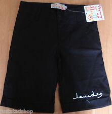 Lourdes girl black summer cotton shorts 5-6 y BNWT designer
