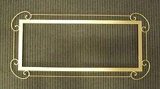 CORNICE DESIGN per Camino FERRO BATTUTO con o senza LED . Personalizzata 431