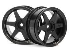 HPI Racing 3841 TE37 Wheel 26mm Black 3mm Offset (2) Sprint 2 Nitro E10 Ford