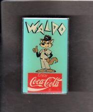 COCA COLA  FORMER WHITE SOX MASCOT WALDO  Hat Pin Back Button