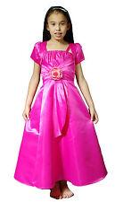 Neu Brautjungfer Blumenmädchen Schönheitswettbewerb Kleid + Bolero in 6 Farben 2