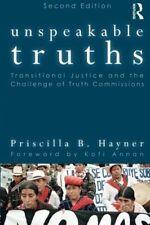 PRISCILLA B. HAYNER - Unspeakable Truths: ** Very Good Condition **