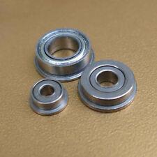 1Pcs Flange Ball Bearing Mini Metal Metric Flanged Bearing Model Material