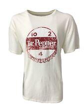RETRO BRAND t- shirt uomo mezza manica avorio 100% cotone MADE IN USA