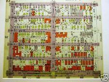 Brooklyn Map 1929 Bath Beach Bay Parkway Print Matted