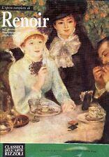 L'Opera completa di Renoirnel periodo impressionista 1869-1888 Classici Rizzoli