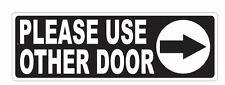 Please Use Other Door Sticker D3677