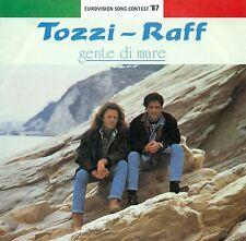 """GRAND PRIX '87 TOZZI RAFF - GENTE DI MARE / LASCIA CHE SIA IL TUO 7"""" SINGLE B17"""