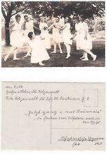 Tanz oder Rhytmische Gymnastik Ausdruckstanz New German Dance  Foto RPPC 1920