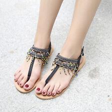 Sandali eleganti bassi infradito colorati nero leggeri comodi simil pelle  9929