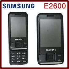 "E2600 Samsung GT-E2600 mobile phone 2MP TFT Screen 2.4"" Slider Cellphone"