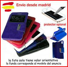 Funda Libro con Ventana Para SAMSUNG J700F J7 Flip Cover (Protector opcional)