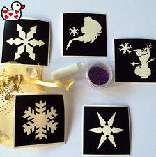 Glitter Tattoo Kits Snow Queen Frozen Glitter Glue Fundraiser Airbrush Facepaint
