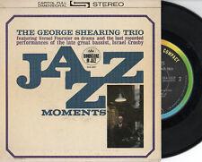 GEORGE SHEARING TRIO disco EP 45 giri USA Jazz Moments