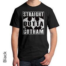 Straight Outta Gotham Graphic T-Shirt Batman Logo TV Series Batman 931