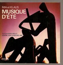 Mia & Klaus Musique d'été Centre Orford photos Signé Sihned