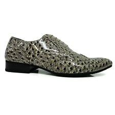 Zapatos caballero zapatos, blanco beige, barniz, animalado gemasert, tamaño 39, 40, 41, 42, 43
