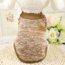 Dog Sweater Large Cat Pet Classic Fashion Hoodie Primer Winter Clothes Khaki