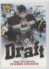 2012 Cardset Finland SM-Liiga Draft #DRAFT4 Sami Aittokallio Colorado Avalanche