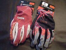 unisex Scott Sports Carmine spring gloves  xl  9.5 inch circum  nwt  2 colors