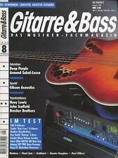 Gitarre und Bass # August 1994 Deep Purple, Armand Sabal-Lecco, Gibson Acoustics