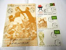 IL GIOCO del CALCIO e altri sport con la palla ,  mostra filatelica Cesena 1974