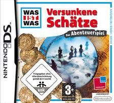 Was ist Was: Versunkene Schätze - Das Abenteuerspiel Nintendo DS Neuwertig