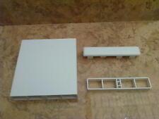 1-A Kunststoff-Hohlkammerprofil 120 x 25 mm Balkonverkleidung, Balkonlatte, Zaun