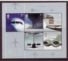 GRAN BRETAÑA 2002 AVIACIÓN HOJA miniatura Nuevo sin montar, Concorde