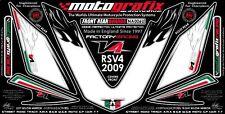 Aprilia RSV4 Factory 09 - 16 Front  / Rear Number Board Motografix Gel Protector