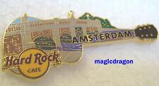 Hard Rock Cafe AMSTERDAM #6 Bridge Series Guitar Pin .