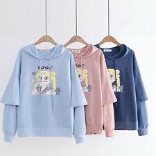 Sailor Moon Hoodie Sweet Japan Mori Girl Preppy Style Hooded Pullover Sweatshirt