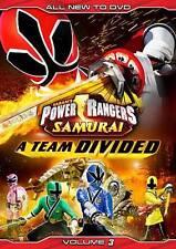 Power Rangers Samurai: A Team Divided Vol. 3, DVD, Brittany Pirtle, Najee De-tie