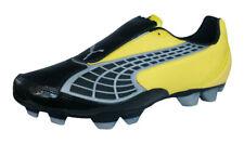 Puma V2.10 i HG Mens Soccer Boots / Cleats - Black Yellow