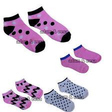 femmes Socquettes UK 4 6 Athlétique SPORT GYM Modèles Assortis mode rose