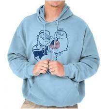 Always Strong Patriotic Popeye Sailor Funny Hoodies Sweat Shirts Sweatshirts
