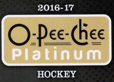 16/17 O-PEE-CHEE PLATINUM HOCKEY BASE TEAM SETS (ANA-WIN) U-Pick Team From List