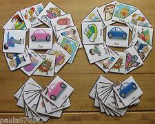 Las tarjetas Flash básica de rutina de la mañana comunicación ~ ~ ~ ~ ~ aprendizaje Autismo Sen Uso Casero