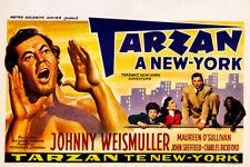 Tarzans New York Adventure 1942 Belgian Movie Poster