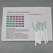 Teststäbchen Wasserhärte Indikatorpapier Kalk Teststreifen AQUADUR Härtetest